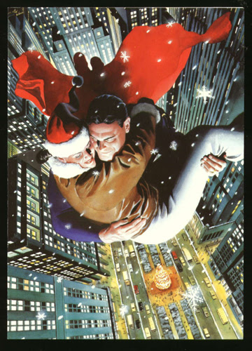 Alex Ross Christmas card from 1996