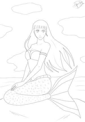 Ausmalbilder Meerjungfrau Zum Ausdrucken Coloring And Drawing