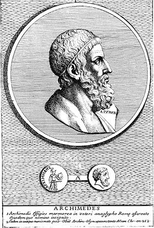 Bust of Archimedes