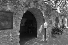 San Antonio - The Alamo barracks