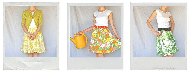 3 new skirts