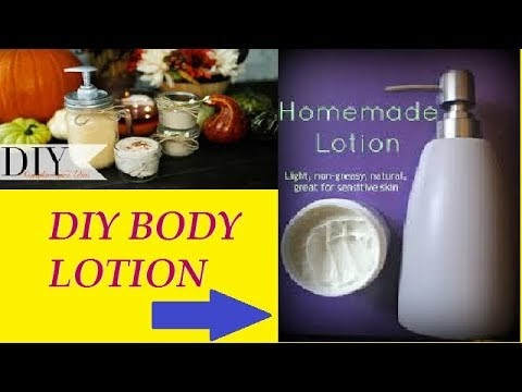How to make Best winter care home made body lotion | moisturiser make Your skin soft smooth