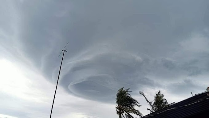 Funnel cloud leaves Bicolanos in awe, others in fear