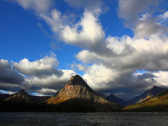 IMG_9575 Storm Breaking in Two Medicine, Glacier National Park