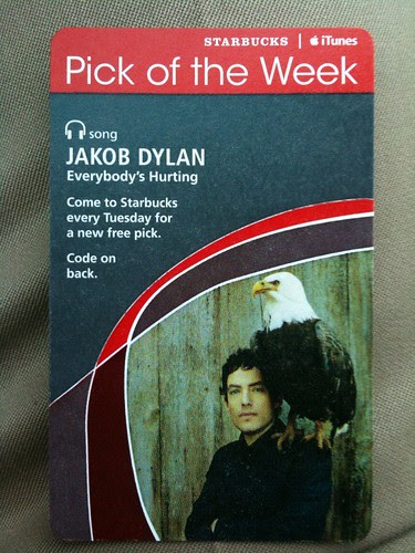 Starbucks iTunes Pick of the Week - Jakob Dylan - Everybody's Hurting #fb
