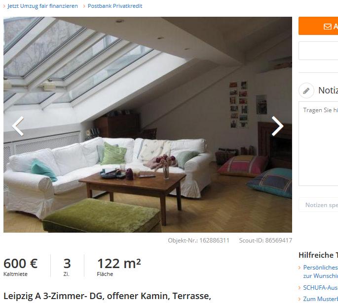 leipzig a 3 zimmer dg offener kamin terrasse 04109 leipzig. Black Bedroom Furniture Sets. Home Design Ideas