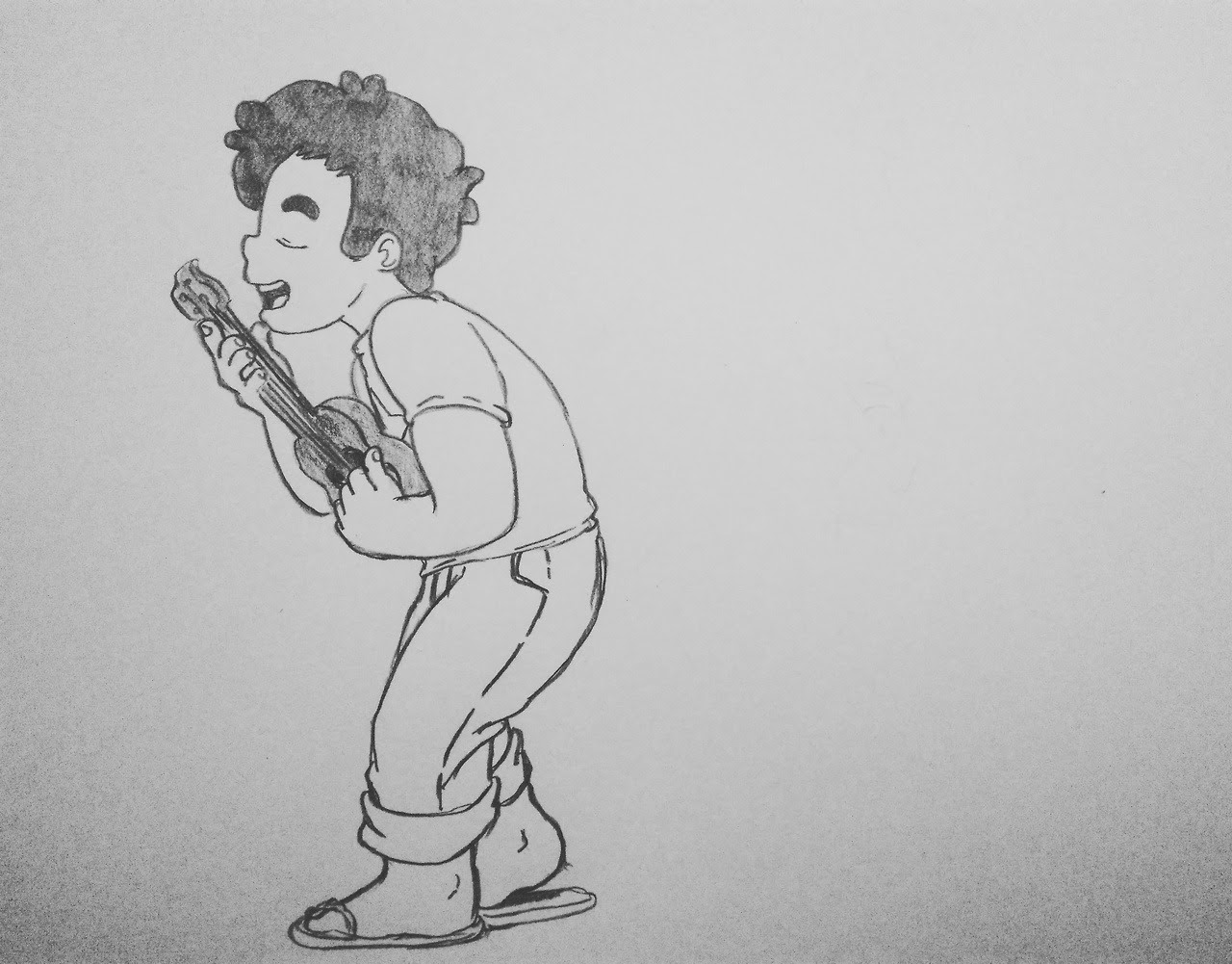 No sé porque no los había subido antes, pero, últimamente, dibujar a Steven me gusta mucho 🌠🌟💓 😄