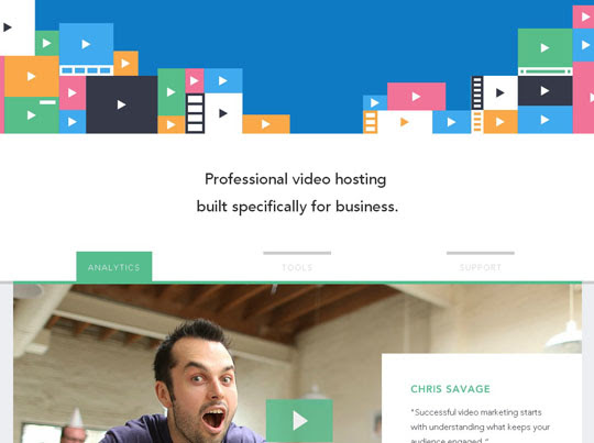 1.flat websites Beautiful Examples Of Flat Web Design