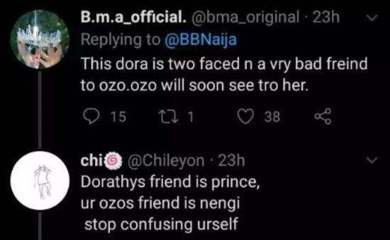 BBNaija: Dorathy Was Spotted Doing This In The Box Room (Photo)