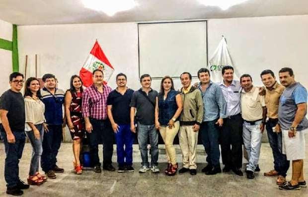 DIRECTIVA ENTRANTE Y SOCIOS DE LA CÁMARA DE COMERCIO