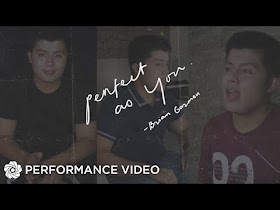 Perfect As You - Brian Gazmen (Performance Video)