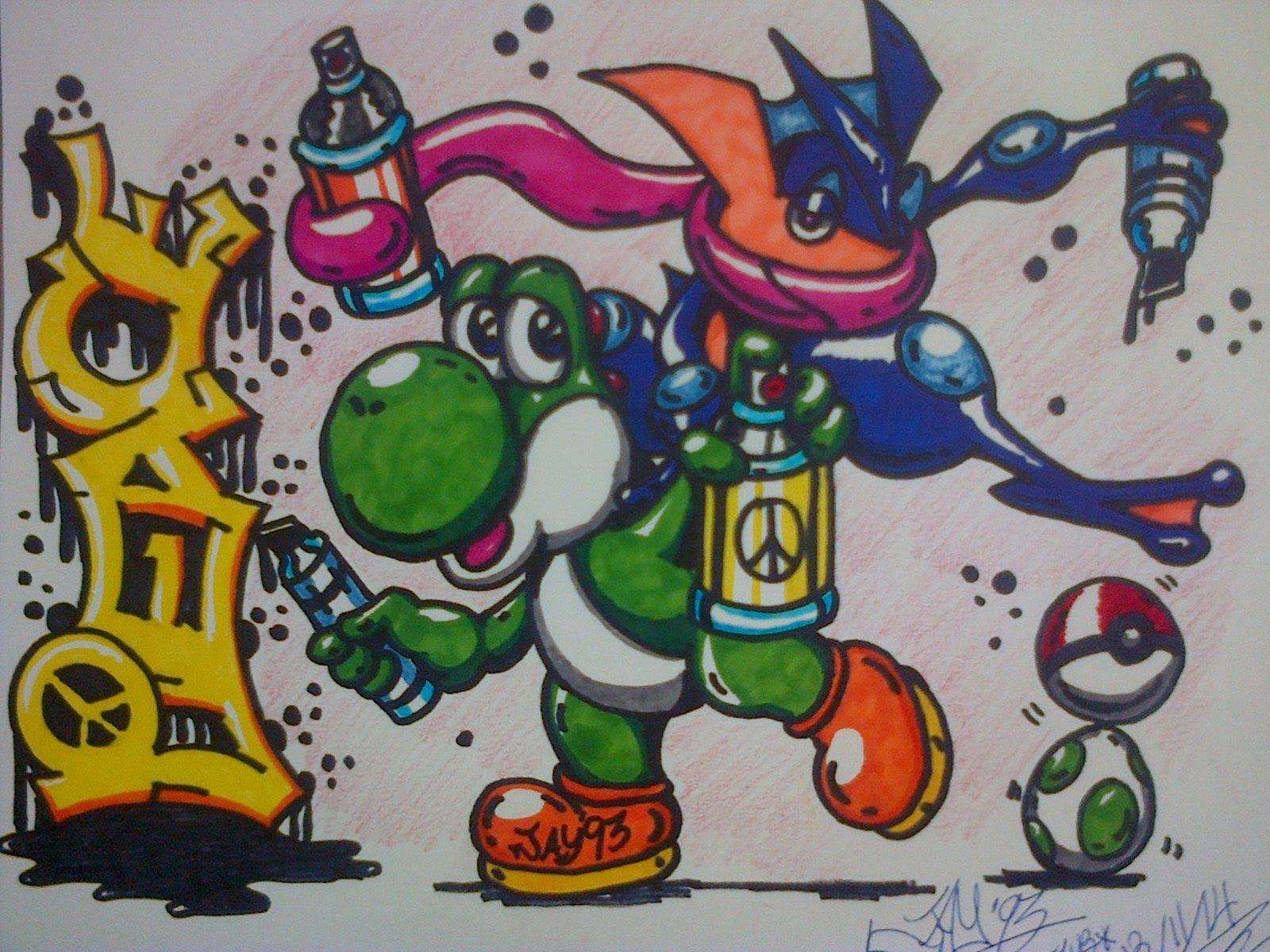 Kumpulan Gambar Dp BBM Keren Karakter Monster Sketch Ponsel Harian