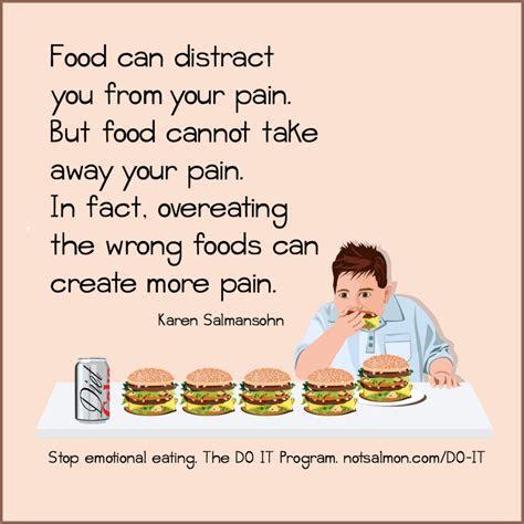 stop stress eating  motivating quotes karen salmansohn
