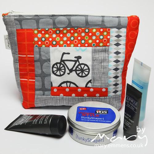 Bike wash bag