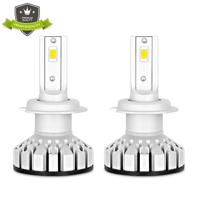 Goede Koop R8 Auto Licht LED H4 H7 Led Lamp H1 H3 H8 H9 H11 HB3 HB4 Leds Koplamp 100 W 10000lm 300% Procent Helderder Voor 12 V 24 Goedkoop