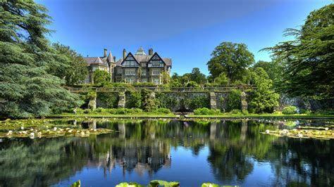 Bodnant immobilier et les jardins au Pays de Galles de