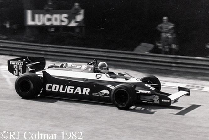 Toleman Hart TG 181C, British Grand Prix, Brands Hatch