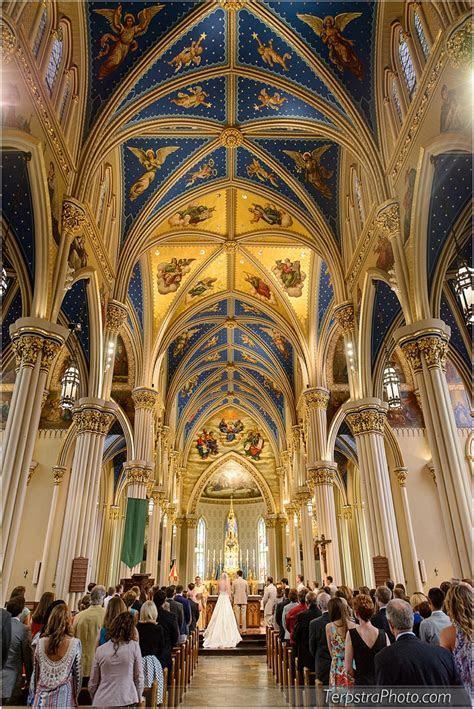 Basilica of the Sacred Heart Wedding Photography