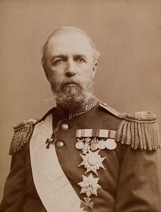 Gösta Florman: His Majesty King Oscar II of Sweden and Norway