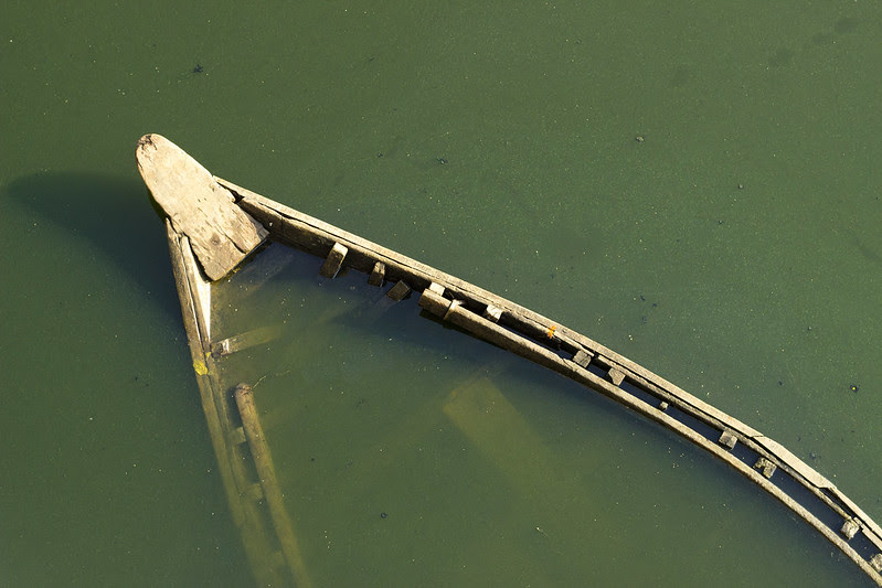 Sunken Boat by nasir khan