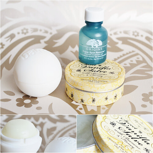 Origins Super Spot Remover Balmi Lip Balm Sweet Vanilla Salve