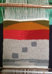 Yurt tapestry