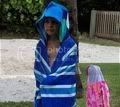 hooded beach towel