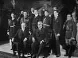 El Presidente Coolidge visita al dictador Gerardo Machado en la Legación cubana en Washington
