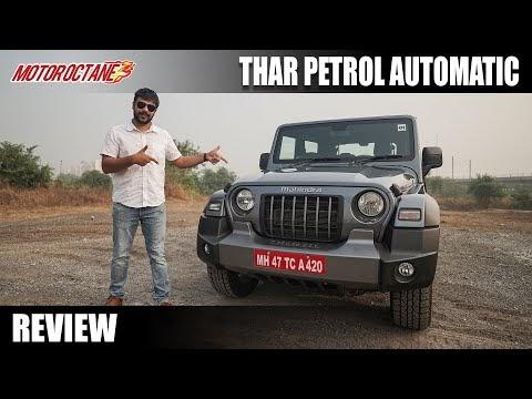 Mahindra Thar PETROL AUTO Review - So Much FUN!