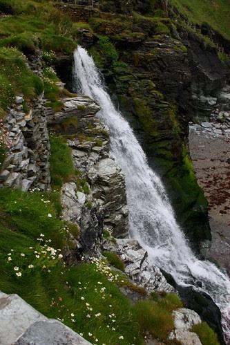 Waterfall at Tintagel