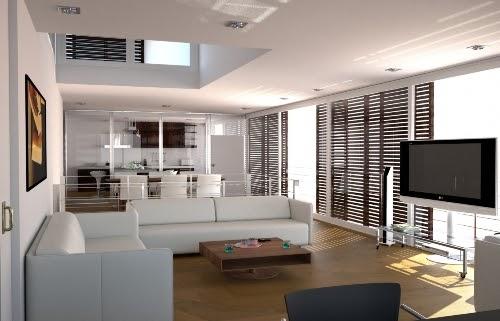 Koleksi Spesial 26 Desain Interior Rumah Minimalis Tanpa Sekat