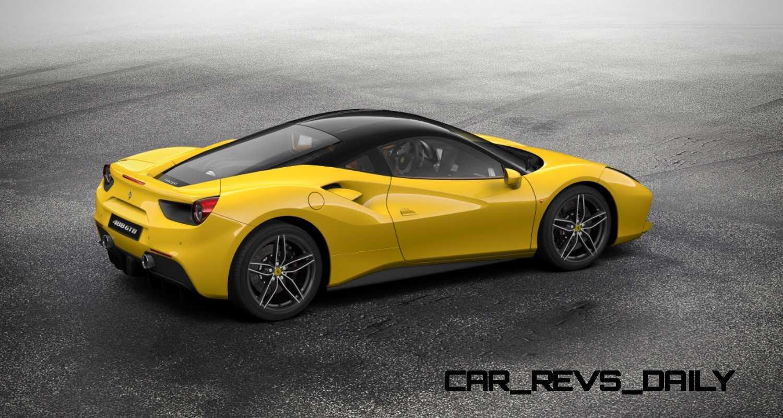 2016 Ferrari 488GTB COLORS