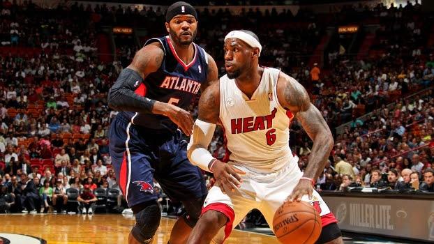 LeBron James recebe marcação de Josh Smith, dos Hawks