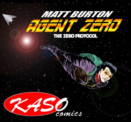 Matt Burton, Agent Zero free web comic