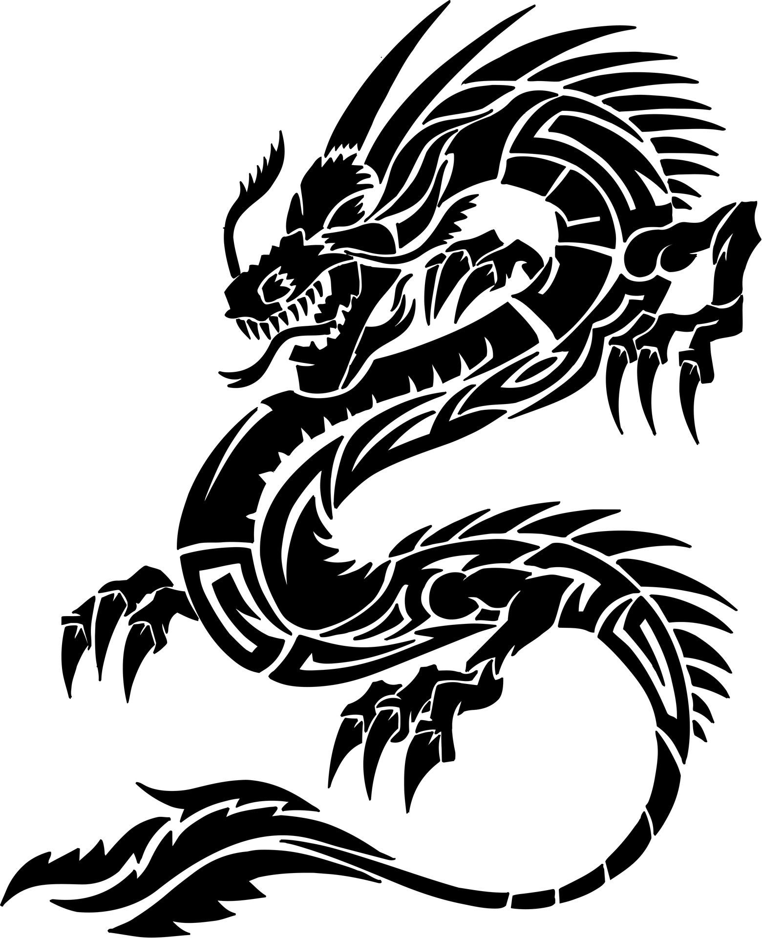 Free Dragon Tattoo Download Free Clip Art Free Clip Art On