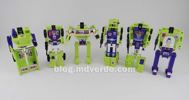 Transformers Devastator (Constructicons) - G1 Encore - modo robot