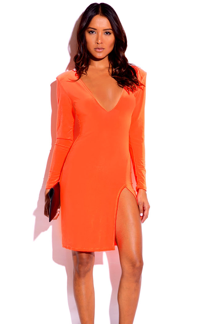 Yoga coral sleeve long with dress you in satin meshin' mini bodycon rose gold