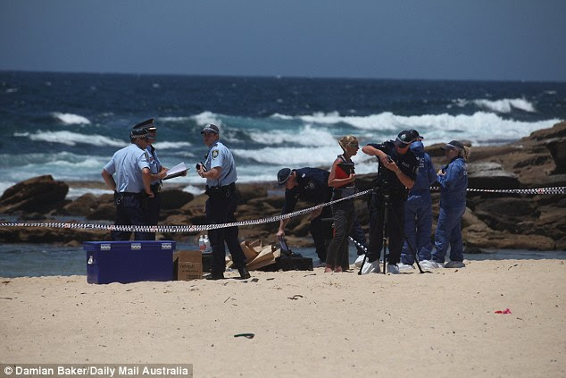 Two young boys, aged six and seven, found the infant while digging in the sand at the southern end of Maroubra Beach