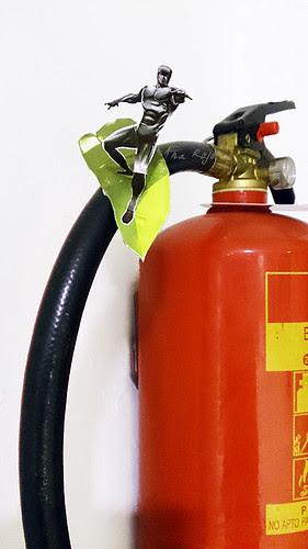 Deslizando por el extintor by aidibus