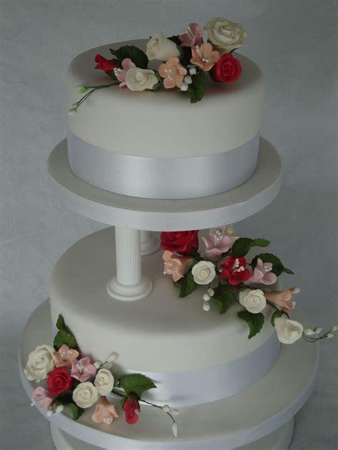 pillar wedding cakes   Home > Wedding Cakes > 2 Tier