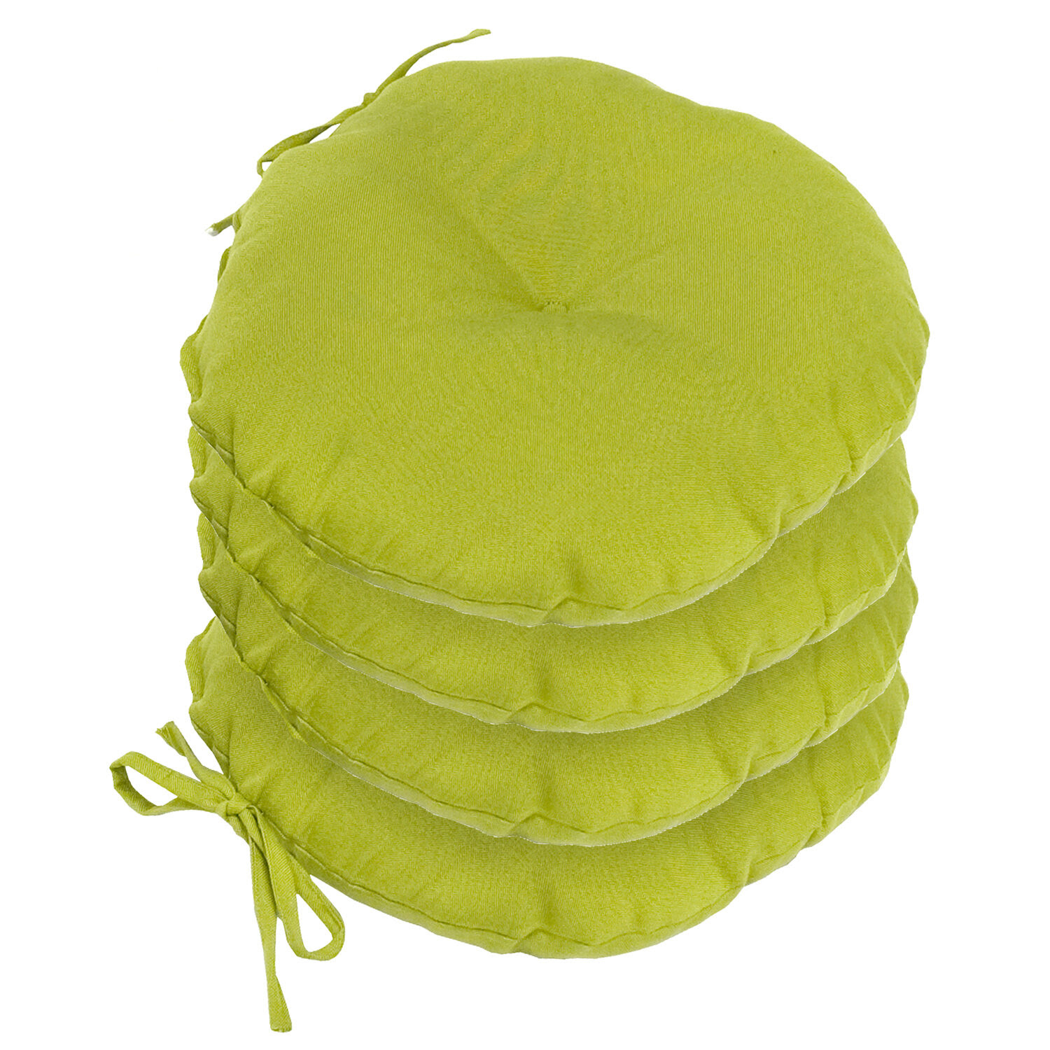 Greendale Home Fashions Outdoor Round Bistro Chair Cushion ...
