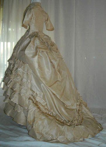 extraordinary post civil war dress victorian silk gown