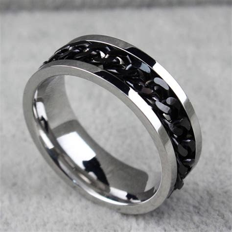 inspirations  mens spinning wedding bands
