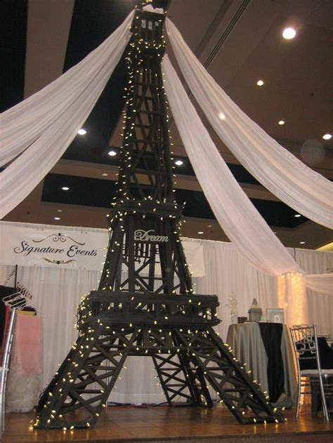 eiffel tower party decorations   Signature Events Rental