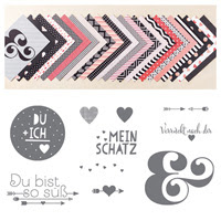Wir beide Clear Bundle (German) by Stampin' Up!