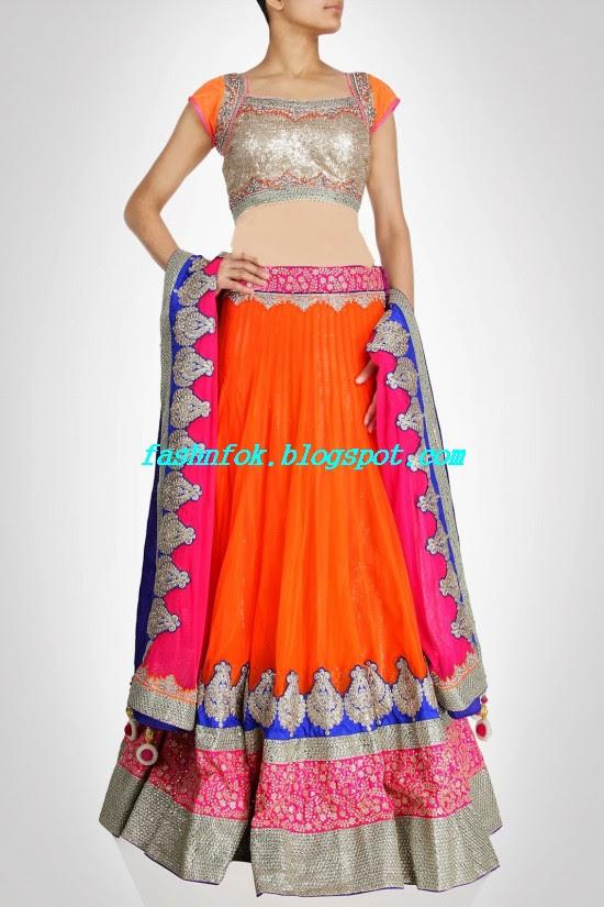 Anarkali-Bridal-Wedding-Lehenga-New-Fashion-Outfits-by-Kiran-&-Shruti-Aksh-1