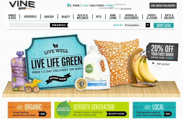 Amazon launches Vinecom for shoppers who live life on the 'green' edge