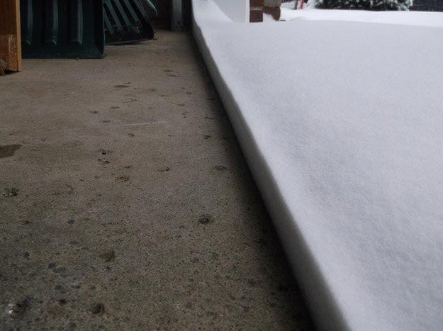 14. Эта идеальная линия снега между дорогой и гаражом вещи, идеально, перфекционист