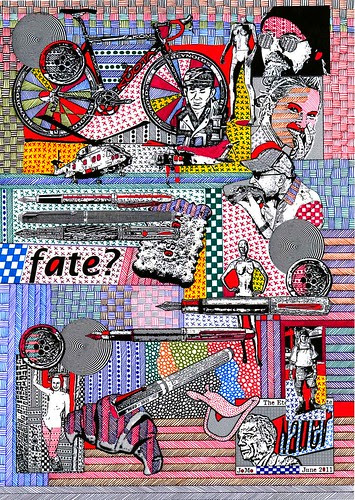 John Mountain -Collage-Jomo-301 by jim leftwich