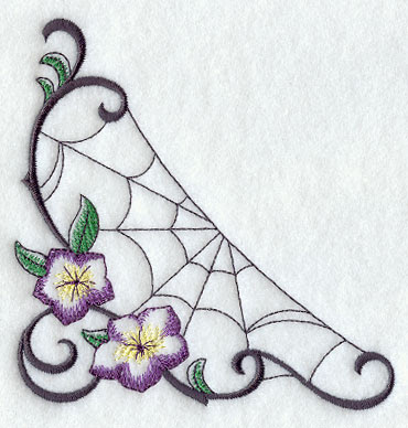 Machine Embroidery Designs at Embroidery Library! - Spider Web ...